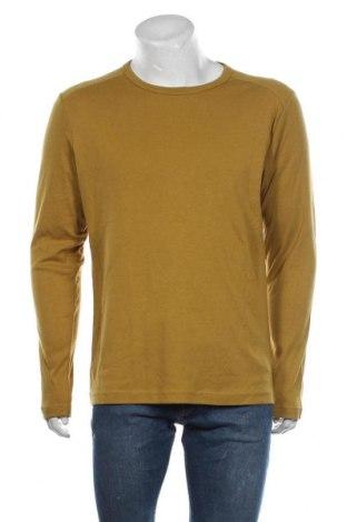 Мъжка блуза Angelo Litrico, Размер XL, Цвят Жълт, 80% памук, 20% полиестер, Цена 17,01лв.