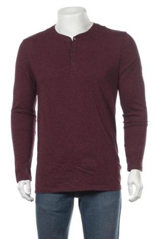 Мъжка блуза Essentials by Tchibo, Размер M, Цвят Червен, Памук, Цена 20,16лв.