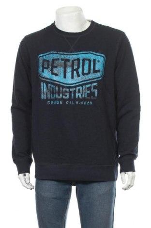 Мъжка блуза Petrol Industries, Размер XXL, Цвят Син, Памук, Цена 23,40лв.