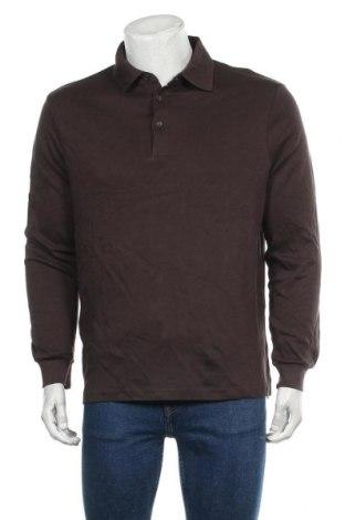 Мъжка блуза Royal Class, Размер L, Цвят Кафяв, Памук, Цена 24,99лв.