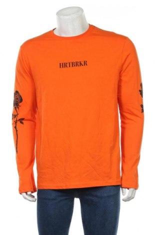 Мъжка блуза Your Turn, Размер L, Цвят Оранжев, Памук, Цена 17,01лв.