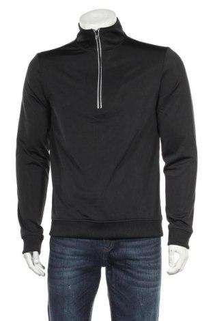 Мъжка блуза Your Turn, Размер M, Цвят Черен, Полиестер, Цена 18,48лв.
