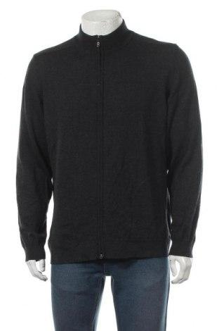 Jachetă tricotată de bărbați Bogner, Mărime XL, Culoare Gri, Lână, Preț 302,40 Lei
