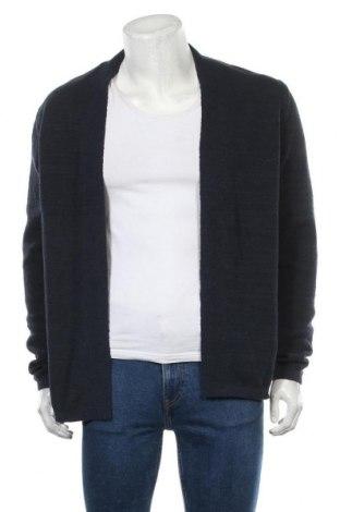 Pánský kardigán Premium By Jack & Jones, Velikost L, Barva Modrá, 79% bavlna, 21% polyester, Cena  550,00Kč