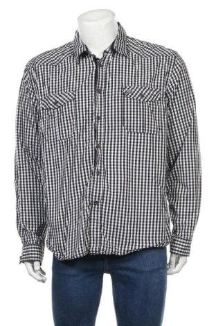 Мъжка риза Brooklyn, Размер XXL, Цвят Бял, Памук, Цена 6,62лв.