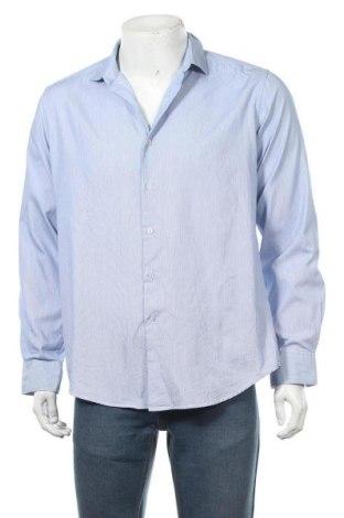 Мъжка риза Alfani, Размер M, Цвят Син, Памук, Цена 4,99лв.