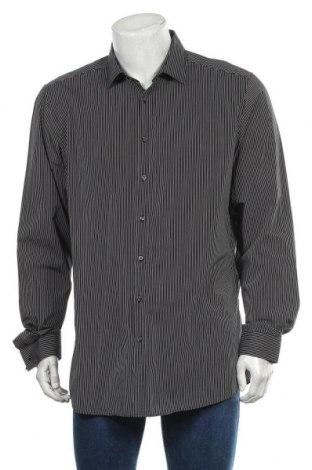 Мъжка риза Angelo Litrico, Размер XL, Цвят Черен, Памук, Цена 7,56лв.