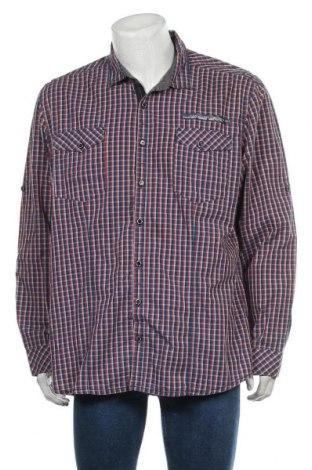 Мъжка риза Angelo Litrico, Размер XXL, Цвят Многоцветен, Памук, Цена 19,95лв.