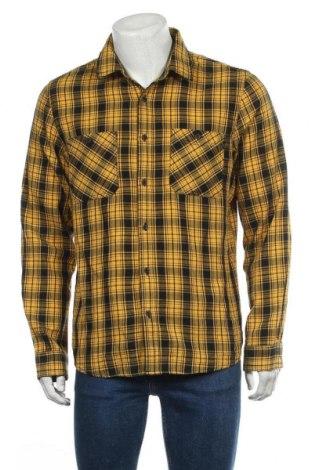 Мъжка риза Angelo Litrico, Размер L, Цвят Жълт, Памук, Цена 6,62лв.