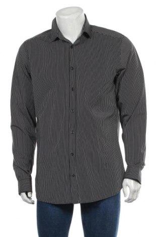 Мъжка риза Angelo Litrico, Размер L, Цвят Черен, Памук, Цена 13,23лв.