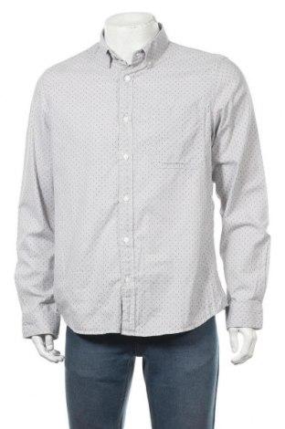 Мъжка риза Angelo Litrico, Размер L, Цвят Сив, Памук, Цена 6,62лв.