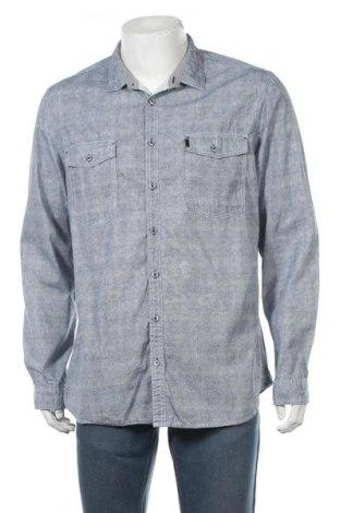 Мъжка риза Angelo Litrico, Размер XL, Цвят Син, Памук, Цена 15,12лв.