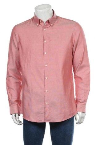 Мъжка риза Angelo Litrico, Размер L, Цвят Розов, Памук, Цена 15,12лв.