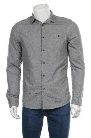 Мъжка риза Angelo Litrico, Размер S, Цвят Сив, Памук, Цена 4,46лв.