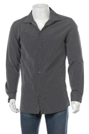 Мъжка риза Angelo Litrico, Размер XL, Цвят Черен, Цена 14,96лв.