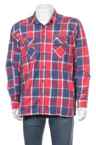 Мъжка риза Angelo Litrico, Размер XXL, Цвят Многоцветен, Памук, Цена 11,42лв.