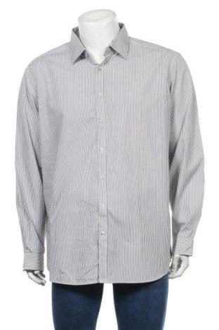 Мъжка риза Angelo Litrico, Размер XXL, Цвят Бял, Памук, Цена 9,18лв.