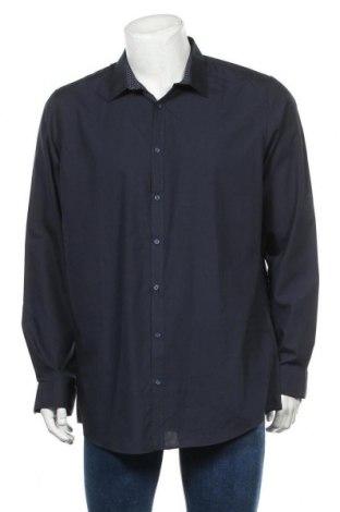 Мъжка риза Angelo Litrico, Размер XL, Цвят Син, 65% полиестер, 35% памук, Цена 16,07лв.