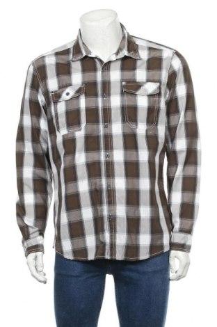 Мъжка риза Angelo Litrico, Размер L, Цвят Многоцветен, 60% памук, 40% полиестер, Цена 4,73лв.