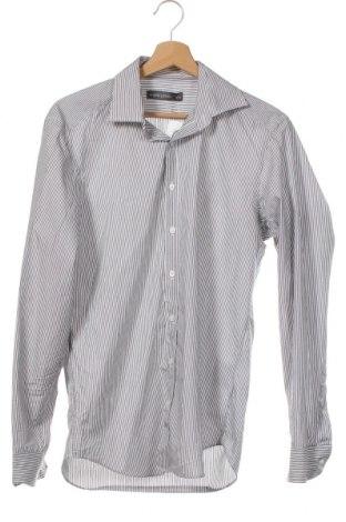 Мъжка риза Angelo Litrico, Размер S, Цвят Сив, Памук, Цена 4,73лв.