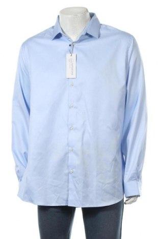 Мъжка риза, Размер XXL, Цвят Син, Памук, Цена 17,94лв.