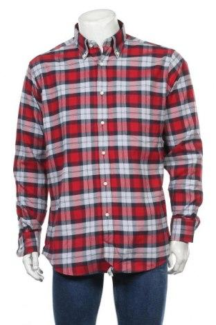 Мъжка риза C.Comberti, Размер L, Цвят Многоцветен, Памук, Цена 7,72лв.