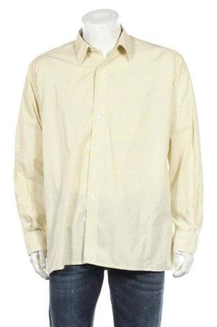 Ανδρικό πουκάμισο Eterna, Μέγεθος XL, Χρώμα Κίτρινο, Τιμή 4,09€