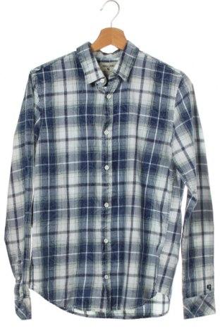 Мъжка риза Garcia Jeans, Размер S, Цвят Многоцветен, Памук, Цена 20,65лв.