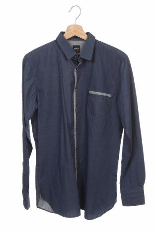 Pánská košile  Hugo Boss, Velikost S, Barva Modrá, Bavlna, Cena  1587,00Kč