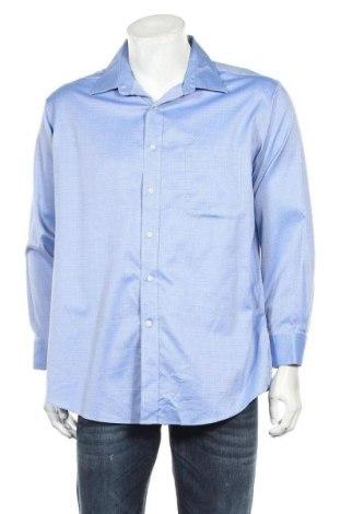 Мъжка риза Kirkland, Размер XL, Цвят Син, Памук, Цена 7,98лв.