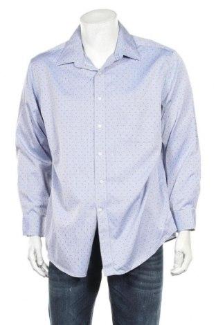 Мъжка риза Kirkland, Размер XL, Цвят Син, Памук, Цена 16,96лв.
