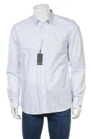 Мъжка риза Marc O'Polo, Размер L, Цвят Син, 98% памук, 2% еластан, Цена 55,47лв.