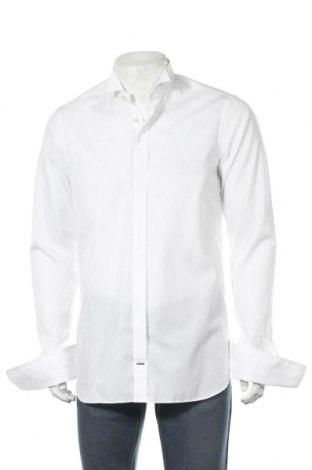 Мъжка риза Olymp, Размер M, Цвят Бял, Памук, Цена 31,82лв.