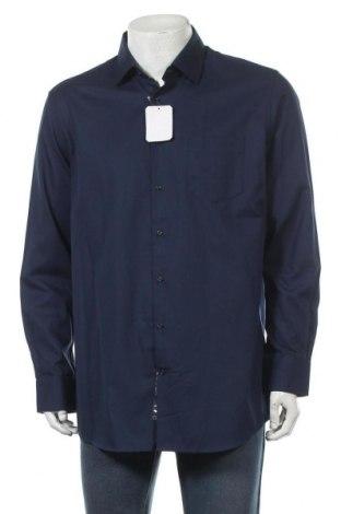 Мъжка риза Pierre Cardin, Размер XL, Цвят Син, Памук, Цена 27,25лв.