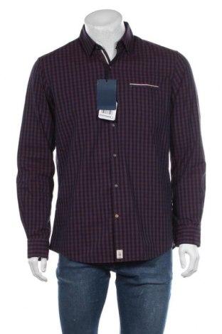 Мъжка риза Pierre Cardin, Размер M, Цвят Червен, Памук, Цена 27,25лв.