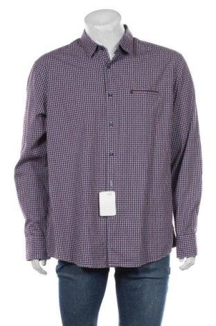 Мъжка риза Pierre Cardin, Размер XL, Цвят Червен, Памук, Цена 29,75лв.