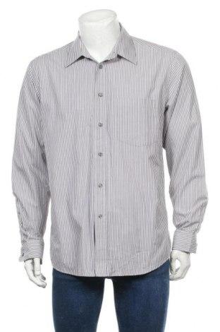 Мъжка риза Royal Class, Размер L, Цвят Сив, Памук, Цена 17,96лв.