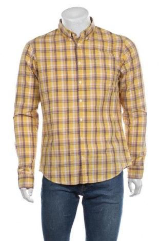 Мъжка риза SUN68, Размер L, Цвят Жълт, Памук, Цена 48,95лв.
