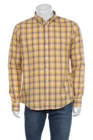 Мъжка риза SUN68, Размер XL, Цвят Жълт, Памук, Цена 48,95лв.