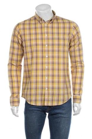 Мъжка риза SUN68, Размер M, Цвят Жълт, Памук, Цена 48,95лв.