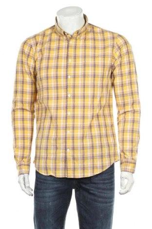 Мъжка риза SUN68, Размер L, Цвят Жълт, Памук, Цена 41,80лв.