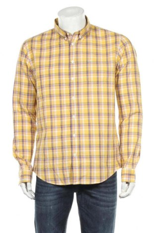 Мъжка риза SUN68, Размер XL, Цвят Жълт, Памук, Цена 41,80лв.