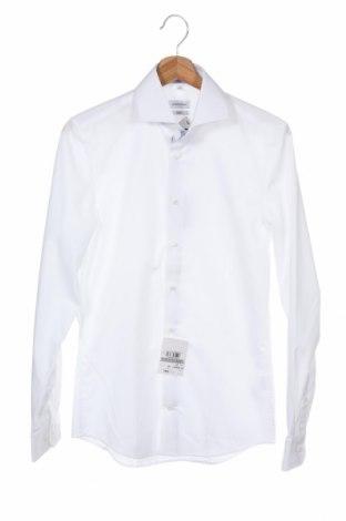 Мъжка риза Seidensticker, Размер XS, Цвят Бял, Памук, Цена 27,65лв.