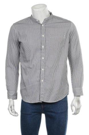 Мъжка риза Uniqlo, Размер M, Цвят Бял, Памук, Цена 4,46лв.