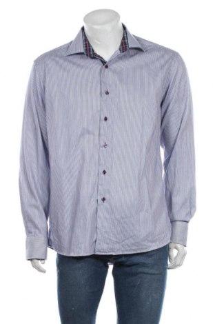Pánská košile  Vannucci, Velikost L, Barva Modrá, Bavlna, Cena  200,00Kč