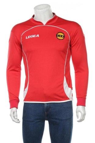Мъжка спортна блуза Legea, Размер S, Цвят Червен, Полиестер, Цена 8,58лв.