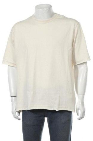 Мъжка тениска Hummel, Размер M, Цвят Екрю, Памук, Цена 29,25лв.