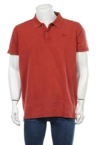 Мъжка тениска Petrol Industries, Размер XXL, Цвят Кафяв, Памук, Цена 20,40лв.