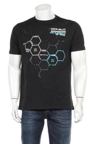 Pánské tričko  SCOTT, Velikost L, Barva Černá, 100% bavlna, Cena  491,00Kč