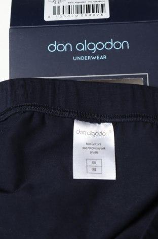 Слип Don Algodon, Размер M, Цвят Син, 93% памук, 7% еластан, Цена 9,66лв.